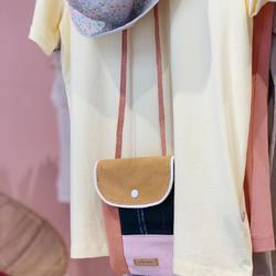 Réception de jolis petits sacs, mélange de couleurs et matières... Dessiné pour les enfants, il sera aussi adopté par les mamans 😊  #want #palmacafeboutique #cutebag