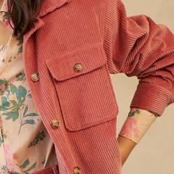 ❤️ On adore ce nouvel ensemble rose en velours côtelé. A découvrir chez Palma✨ Le pantalon se décline aussi dans un magnifique bleu-vert.  _  #palmacafeboutique #graceandmila#FW21#ootd#newcollection